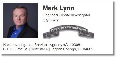 Contact Mark Lynn | Licensed Private Investigator | Keck Investigation Service, LLC